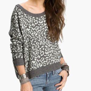 Free People cool cat alpaca blend sweater
